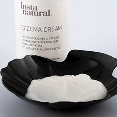 Eczema Cream – Anti Itch Treatment, Redness Relief from Irritation of Psoriasis, Rosacea & Eczema – Natural Moisturizing Lotion for Rashes, Dry or Cracked Skin – Face & Body Nourishment – InstaNatural Face Skin, Face And Body, Itch Relief, Allergy Testing, Cracked Skin, Rosacea, Allergies, Gifts For Kids, Lotion
