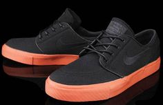 Nike SB Zoom Stefan Janoski 'Black/Terra Cotta'
