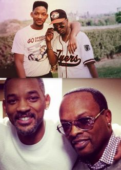 the fresh prince & dj jazzy jeff....then & now.