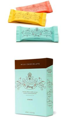 cute chocolate packaging