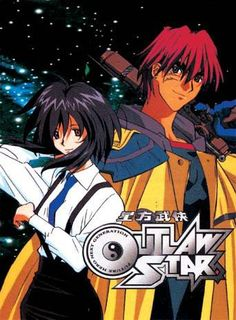 Outlaw Star I watched it at grandma's house with dad after school. We finished watching DBZ and rush over to grandma's house during commercial break to catch outlaw star. :D