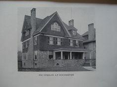 Psi Upsilon at University of Rochester , Rochester, NY, 1902, Unknown