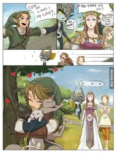 God damn it Link...