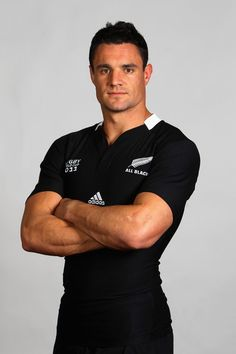 Dan Carter + All Blacks, New Zealand + Rugby Union