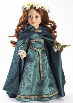 Carpatina OOAK medieval celtic princess doll dress  Inspiration