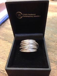 9ct White Gold Wrap Ring, price guide, £560