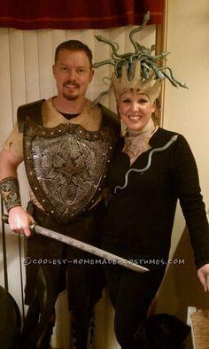 Perseus and Medusa Couple Halloween Costume...