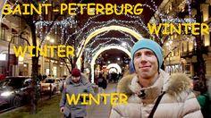 Saint P Inside. Episode 2. Winter in Saint-Peterburg Russia. City center...