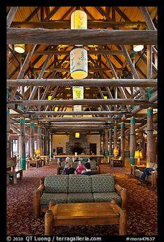 Historic Paradise Lodge, Mount Rainier National Park, Washington