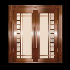 Copper Steel Security Door