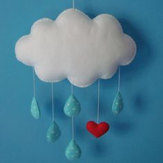 love using felt for mobiles Felt Diy, Felt Crafts, Diy Crafts, Diy For Kids, Crafts For Kids, Arts And Crafts, Sewing Projects, Projects To Try, Felt Mobile