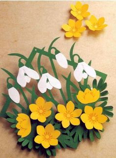 29 Trendy Flowers Crafts For Kids Christmas Paper Flowers Diy, Flower Crafts, Flower Art, Spring Art, Spring Crafts, Easter Crafts, Crafts For Kids, Diy Ostern, Art N Craft