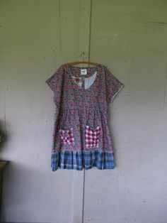 prairie dress upcycled clothing tattered by lillienoradrygoods