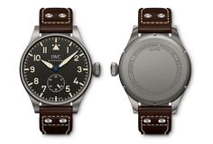 IWC Big Pilot's Heritage Watch 55 - front back - Perpetuelle