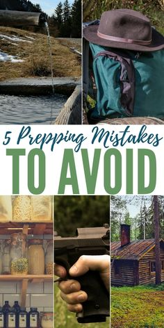 5 Prepping Mistakes to Avoid — I found a great article over at prepforshtf.com that goes over 5 prepping mistakes to avoid. We all make mistakes and I will be the first one to admit I have made many in my prepping journey. By making mistakes you learn from them and become a better prepper!