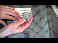 Chevron Butterfly Card