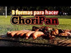 Como hacer Choripan Argentino! 3 distintas técnicas - Locos X el Asado http://fb.com/locosxelasado , Embutidos para la parrilla!