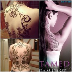 house of night back tattoos - Google Search