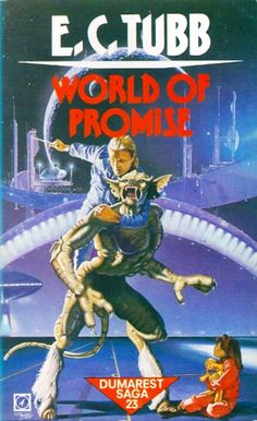 FRED GAMBINO - World of Promise by E.C. Tubb - 1985 Arrow Books