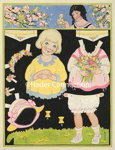 Hader paper doll_Good Housekeeping magazine, May 1924