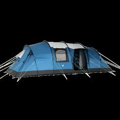 New for 2015 , The Brisbane 8 Person Family Tent , feature packed Tunnel Tent  perfect for a small Family or Group Camping. Pitch efficient & full Head Height