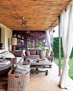 75 Plus 25 Outdoor Rooms, Sun Shelters to Improve Outdoor Living Spaces Outdoor Furniture Sets, Outdoor Decor, Home, Outdoor Space, Deck Designs Backyard, Outdoor Rooms, Living Spaces, Farmhouse Interior, Rustic Interiors