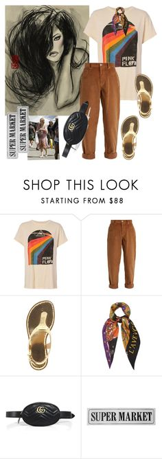 """""""# Supporting another's success won't ever dampen Yours"""" by smakena ❤ liked on Polyvore featuring MadeWorn, Miu Miu, MICHAEL Michael Kors, Gucci, Nicki Minaj and VIP Home & Garden"""