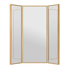 IKEA STAVE mirror Provided with safety film - reduces damage if glass is broken.