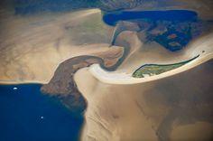 En France une langue de sable d'Arcachon semblable à la côte australienne.