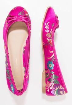 New Look Wide Fit WIDE FIT KOKO - Ballerinat - bright pink - Zalando.fi