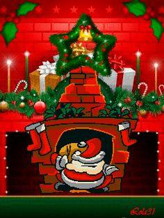 Дед Мороз ( С Наступающим Новым годом 2012) - анимация на телефон №939033