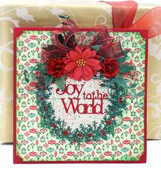 Cheery Lynn Designs Blog: Joy to the World Card