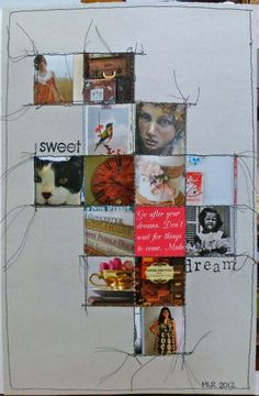 Inspiration Everywhere: Journal page by Michelle Rydell