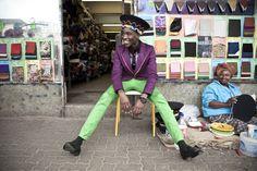 Expositie 'Making Africa' in Vitra Design Museum. Chris Saunders, Lethabo Tsatsinyane photographed for Dazed Magazine. #fashion #photography #makingafrica