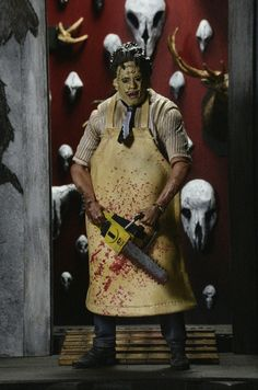 Leatherface....