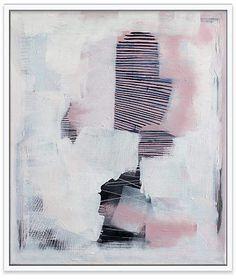 One Kings Lane Linda Colletta - Last Night Art Pink Abstract, Abstract Art, Original Artwork, Modern Art, Inspiration, Art Paintings, Kings Lane, Night, Art Art
