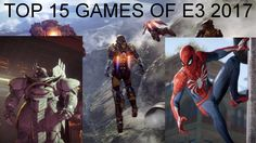 The BEST 15 Games of E3 2017 https://www.youtube.com/attribution_link?a=EDMN7X0omJM&u=%2Fwatch%3Fv%3Df6DM48-fKyk%26feature%3Dshare #gamernews #gamer #gaming #games #Xbox #news #PS4