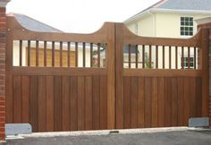 How To Build A Driveway Gate And Fence The Right Way