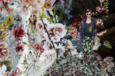 Artist's Garden - MarediModa Spring/Summer 2016 trends by David Shah and the View Team