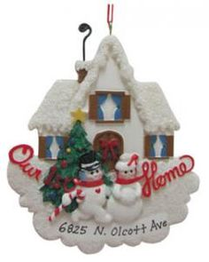 We're celebrating Christmas in our HOUSE this year so we're pretty excited. I can't wait to buy our first house ornament.