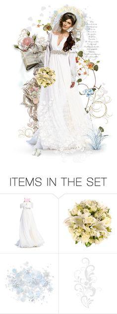 """Bride"" by celeste-menezes on Polyvore featuring art"