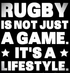 It's a lifestyle! You sleep rugby. You eat rugby. You talk rugby. You think rugby. YOU LIVE RUGBY. Rugby Time, Rugby Quotes, Leeds Rhinos, Rugby Girls, Rugby Club, Rugby Sport, Leicester Tigers, Nz All Blacks, Super Rugby