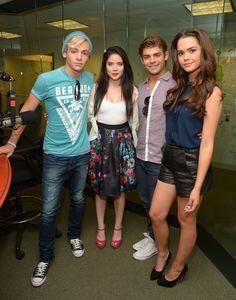 Teen Beach Movie Cast - Sirius XM Candids in NYC