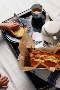 Cardamom Tea Cake in the Pakistani Manner from Spicespoon