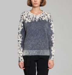 Athé Vanessa Bruno Navy Blue Dingo Sweater on sale at L'Exception