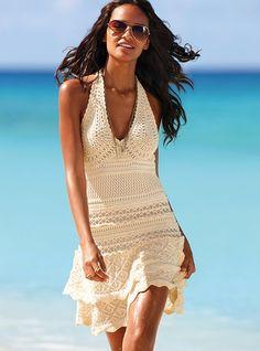 Como amarrar um vestido de verão da Victoria Secret