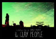 feature film THE CLAY PEOPLE postcard director DALI RUST