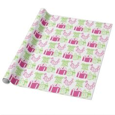 Green and Fuchsia Christmas Design Gift Wrap Rolls http://www.zazzle.com/green_and_fuchsia_christmas_design-256457862785907810?rf=238575087705003771