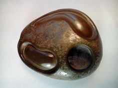 Bubbles Stone Smoking Hidden pipe by BasPipes on Etsy