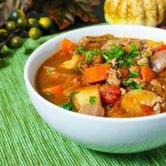 This hearty fall vegetable stew features seasonal root veggies, and will warm you from the inside out!